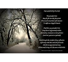 Learning of Love - Collaboration Photographic Print
