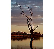 First Light,Lake Fyans Grampians Photographic Print