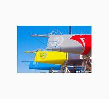boat yard. volvo ocean race. lisbon. 2015.portugal Unisex T-Shirt