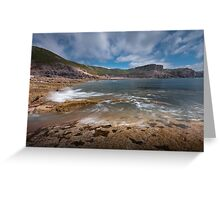 Fall Bay Gower Swansea Greeting Card