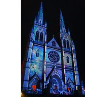 Spooky Blue St Marys Photographic Print