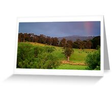 Warm Glow,Otway Farmlands Greeting Card
