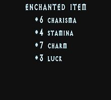 Enchanted Item Bonus Stats RPG T Shirt Unisex T-Shirt