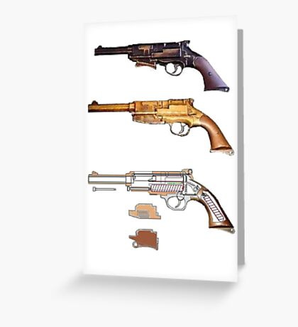 Mals gun Serenity n Firefly  Greeting Card