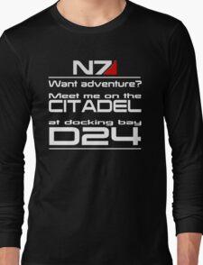 Mass Effect - Meet me on the Citadel Long Sleeve T-Shirt