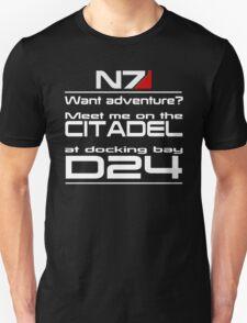 Mass Effect - Meet me on the Citadel Unisex T-Shirt