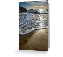 Abersoch calm after the storm MBBK Greeting Card