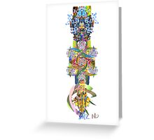 Unconscious Image Greeting Card