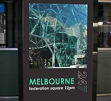 Melbourne Poster by Emma Gene Shanks