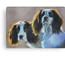 Rosie and Holly Canvas Print