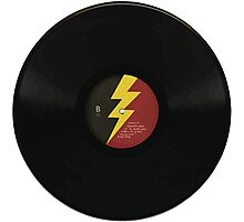 Lightning Bolt Record Photographic Print