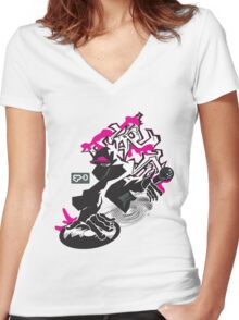 reMix Women's Fitted V-Neck T-Shirt