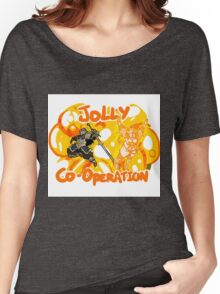 Jolly Cooperation! Women's Relaxed Fit T-Shirt