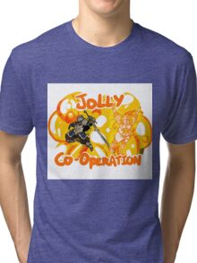 Jolly Cooperation! Tri-blend T-Shirt