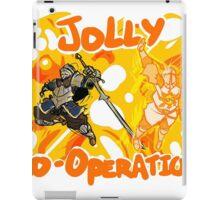 Jolly Cooperation! iPad Case/Skin