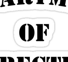 Department of Corrections Sticker