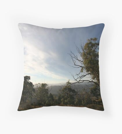 Evening Light, Omeo Throw Pillow