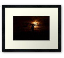 The Light of The Night Framed Print