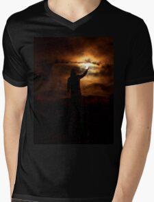 The Light of The Night Mens V-Neck T-Shirt