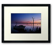 DO 952 Lake Fyans, Grampians Framed Print