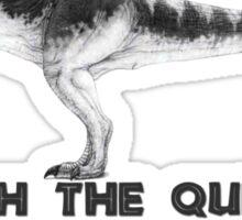 Jurassic Park - T-Rex Queen Sticker