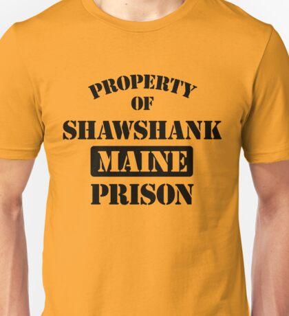 Property Shawshank Maine Prison Unisex T-Shirt