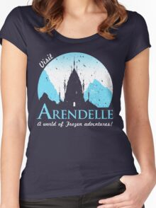 Visit Arendelle Women's Fitted Scoop T-Shirt