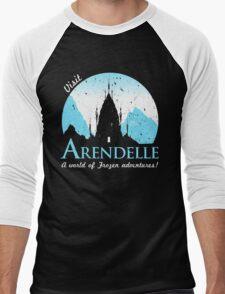 Visit Arendelle Men's Baseball ¾ T-Shirt