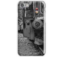 Old locomotive iPhone Case/Skin