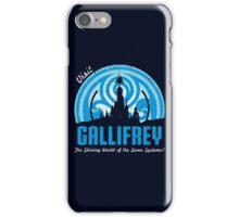 Visit Gallifrey iPhone Case/Skin