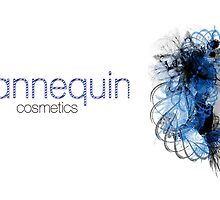 Mannequin- buisness card for new cosmetic co. by Emma Gene Shanks