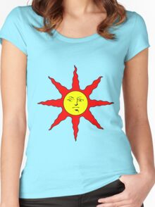 Praise the Sun!!! Women's Fitted Scoop T-Shirt