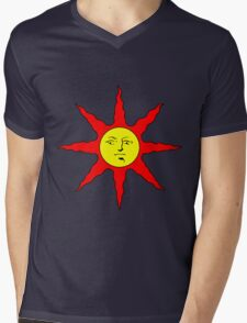 Praise the Sun!!! Mens V-Neck T-Shirt