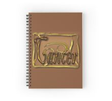 Cancer, zodiac sign Spiral Notebook