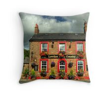 The Lowther Arms Throw Pillow