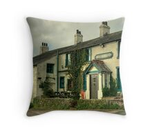 The King George IV Throw Pillow