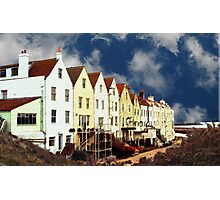 Sky Houses Photographic Print