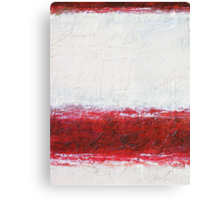 Simply Red 1 Canvas Print