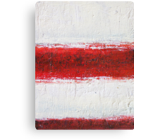 Simply Red 2 Canvas Print