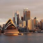 Opera House in winter light by Puppy2