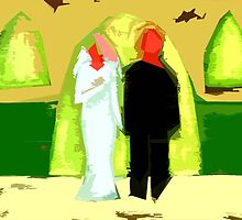 BLUSHING BRIDE AND GROOM 2 by pjmurphy