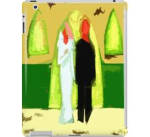 BLUSHING BRIDE AND GROOM 2 iPad Case/Skin