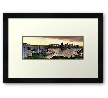 Vista - Moods Of A City (Panoramic) - The HDR Experience Framed Print