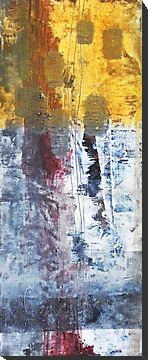 So Gradual The Grace - abstract mixed media painting on canvas by Marco Sivieri