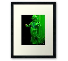 Outer Green Dream Framed Print