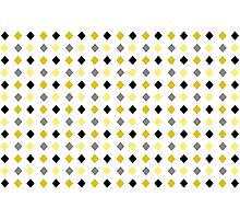 Black and Gold Abstract Pattern Photographic Print