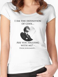 The Definition of cool Women's Fitted Scoop T-Shirt