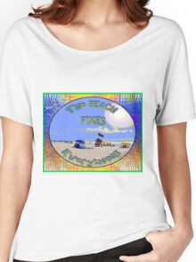 The Beach Fixes Everything Women's Relaxed Fit T-Shirt