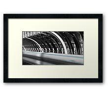 Utopia Station Framed Print