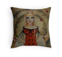 LadyBird Fae Throw Pillow